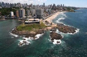 Imagens aéreas de Salvador - Roteiro da FIFA
